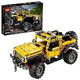 LEGO42122TechnicJeepWrangler,Coche4x4deJuguete,VehculoOffRoaderSUV,MaquetaSetdeConstruccin
