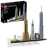 LEGO 21028 Architecture Skyline Collection Ciudad de Nueva York Set de Construccin Modelo de Coleccin Maqueta Decorativa