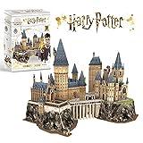 CubicFun Puzzle 3D Harry Potter Hogwarts Castillo Escuela de Brujera y Hechicera Kits de Construccin Modelo, DIY Juguetes 3D Rompecabezas Regalos para Adultos y Nios, 197 Piezas