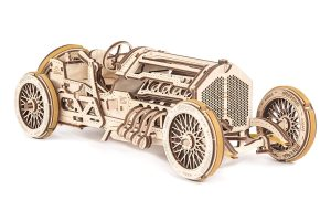 UGEARS UGE 412068 puzle 3D - Puzles 3D (356 Pieza(s), Grand Prix Car, 14 año(s), Niño, Madera contrachapada, 351 mm)