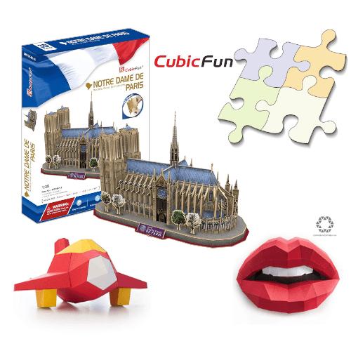 puzzle 3d maquetas Hobby Diorama cubicfun cubic fun