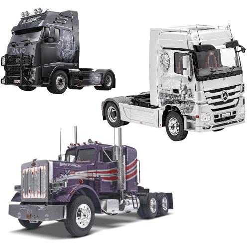Maquetas de camiones desde los mas pequeños, hasta los mas potentes