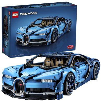 LEGO Technic - Bugatti Chiron, Set de Construcción de Coche de Carreras, Modelo a Escala de Deportivo Coleccionable de Juguete (42083)