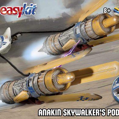Revell 06678 Easy Kit - Maqueta de Vaina de Carreras de Anakin (Escala 1:31, Episodio 1), diseño de La Guerra de Las Galaxias