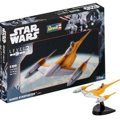 Revell- Star Wars Naboo Starfighter, Kit modele, Escala 1:109 (03611)