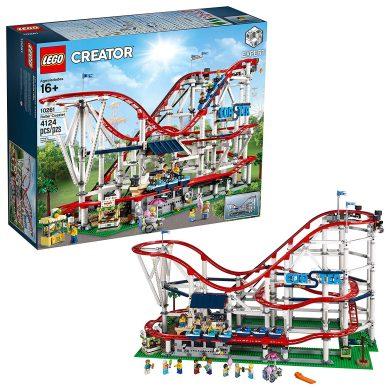LEGO- Creator Expert-Montaña Rusa, Juguete de construcción de atracción de Feria con Todo Detalle (10261)