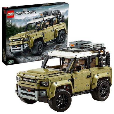 LEGO Technic - Land Rover Defender, Juguete de Construcción de Coche 4x4, Maqueta del Nuevo Modelo de Todoterreno (42110)