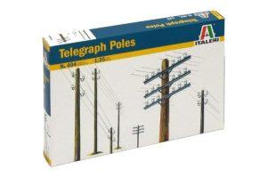 Italeri 510000404 – 1: 35 telegraf mástil