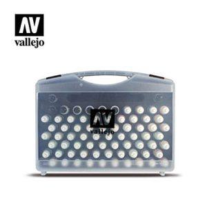 Vallejo - Set de pinturas [72 colores + 3 cepillos + maletín portátil](VAL-70172)