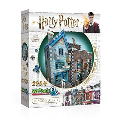 Wrebbit 3D Puzzle Harry Potter Ollivander's Wand Shop 295