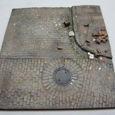 FoG models Diorama Base N° 4 – Dimensions 165 x 155 mm - Échelle 1/35