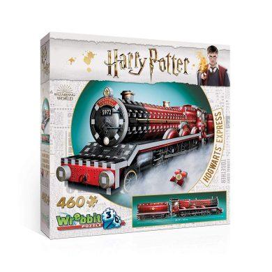 Wrebbit 3D-El Expresso de Hogwarts Harry Potter Puzzle 3D, Multicolor (W3D-1009)