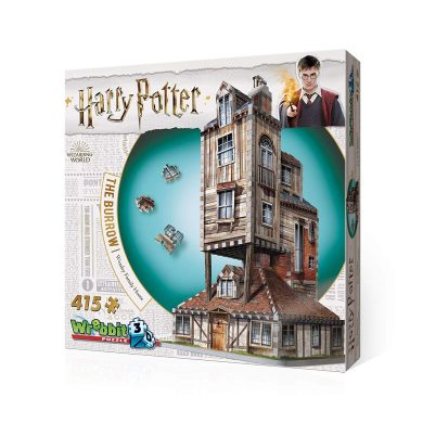 Redstring Puzzle 3D Harry Potter LA MADRIGUERA CASA Familiar Weasley, Multicolor, Estándar (RS262005)
