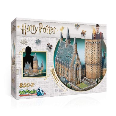 Redstring- PUZZLE 3D HARRY POTTER HOGWARTS GRAN SALON, Multicolor (W3D-20141)