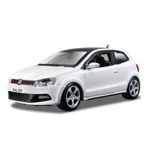 Bburago - Volkswagen Polo coche de escala 1:24 , colores aleatorios , Modelos/colores Surtidos, 1 Unidad