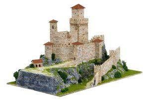 Aedes 1015. Kit de construccion en piedra Rocca Guaita. San Marino (Italia)