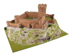 Keranova- Kit de cerámica Castillo de La Atalaya, Color marrón (30107)