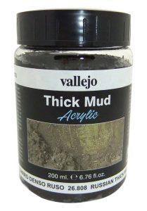 Vallejo WEATHERING Efectos 200 ml – Ruso de grosor de barro