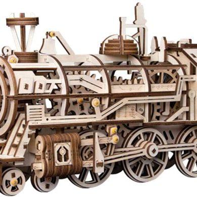 maqueta de tren clásico