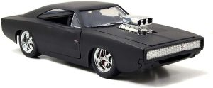 Jazwares Fast and Furious – Dom's Dodge Charger, 97174, Escala 1/24