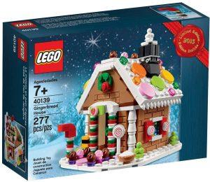 LEGO 40139 - Casa navideña de Pan de Jengibre, edición Limitada de 2015