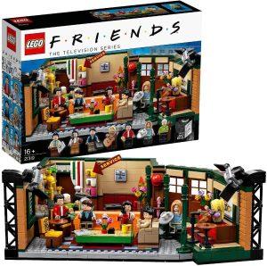 LEGO Ideas - Central Perk, set de construcción, set de la cafetería por el 25 aniversario de la serie, revive los mejores momentos junto a Ross, Rachel, Phoebe, Joey, Chandler y Mónica (21319)
