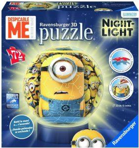 avensburger Frozen - Lámpara Nocturna, Puzzle 3D de 72 Piezas 121915