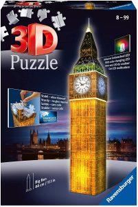 Ravensburger - Puzzle 3D, edición Big Ben (12588 3)
