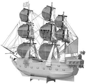 piececool 3D DIY Laser Cut - Puzzle de metal para adultos, 49 piezas, diseño de barco